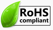 Comply with ROHS (Restriction of Hazardous Substances) and 2006/122/EC - PFOS (PerFluoroOctane Sulfonates)