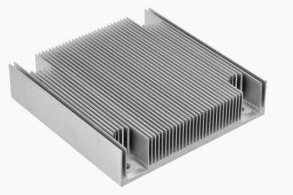 A Typical Extruded Fin heat-sink