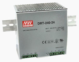 240W 3-Phase Input DIN Rail Power Supply Photo
