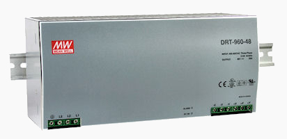 960W 3-Phase Input DIN Rail Power Supply Photo