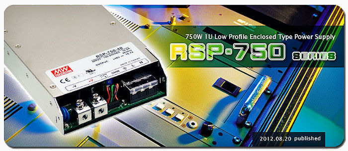 RSP-750 Series Banner