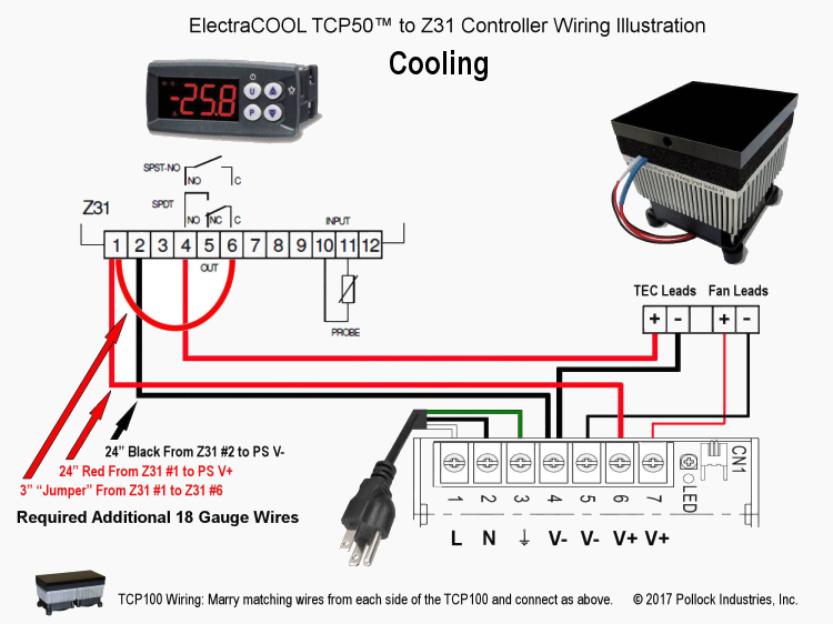 Peachy Electracool Tcp50 Tcp100 Cold Plate Wiring Instructions With Wiring Cloud Favobieswglorg